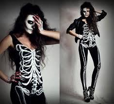 Catsuit Halloween Costumes Skeleton Catsuit 20 Scary Amazing Halloween