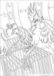 rio 2 colouring pictures 1408 coloring pages disney