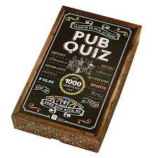 pub quiz trivia game by postbox party notonthehighstreet com