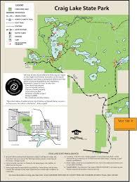 Upper Michigan Map Craig Lake State Parkmaps U0026 Area Guide Shoreline Visitors Guide