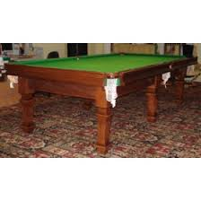 quarter size pool table m586 three quarter size riley table in mahogany