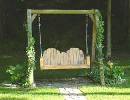porch or yard swing plans or pattern with a frame plans jacks