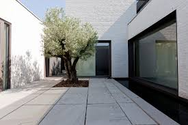 house with courtyard contemporary courtyard house by vw areal architecten 5