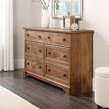 Bedroom Set In Salt Oak Sauder Dressers Bedroom Furniture The Home Depot