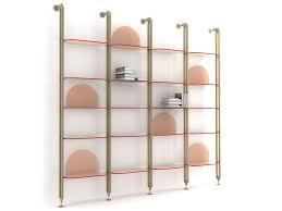 Wall Mount Bookcase Alba Wall Mounted Bookcase By Arflex Design Bernhardt U0026 Vella