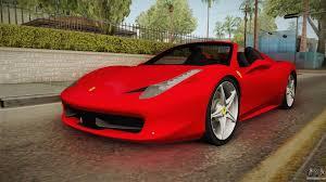 Ferrari 458 Spider - ferrari 458 spider for gta san andreas