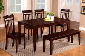 furniture stunning seat dining bench gallery room set seating