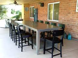 bar height conference table rustic bar height table rustic bistro table furniture throughout