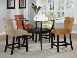 Tall Dining Room Sets by Dining Table Counter Height Glass Dining Table Pythonet Home