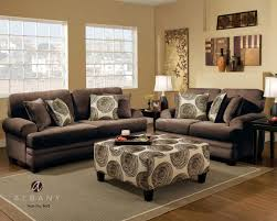Loveseat With Ottoman Groovy Chocolate Loveseat Set By Albany 8642 Lowest Price