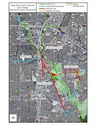 Dallas Area Map Trails In Dallas County White Rock Creek Trail