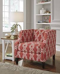 buy sansimeon coral accent chair by benchcraft from www