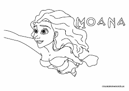 moana coloring pages kids coloring