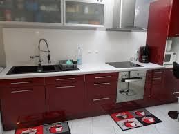 cuisine couleur bordeaux brillant gris anthracite avec quelle couleur 10 cuisine couleur bordeaux
