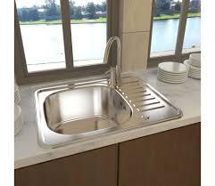 ecoulement evier cuisine acheter evier de cuisine carré avec tuyau d évacuation pas cher
