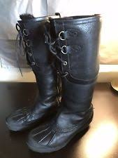s ugg australia emilie boots ugg australia womens boots emilie heel leather black size 8 ebay
