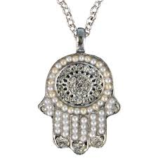hamsa necklace silver images The website that sells all of yair emanuel jpg