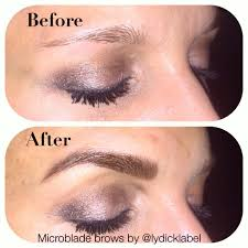 micro blade brows reno nv permanent cosmetics by lydick label