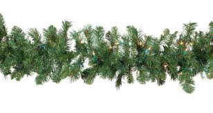 christmas garland with lights lighted christmas garland cumberland fir prelit christmas