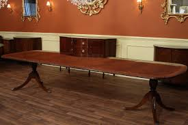 High End Dining Table Federal Style Foot Mahogany Dining Tab - Long dining room table