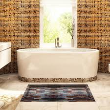 brick tiles 3d peel and stick waterproof non slip pvc bathroom