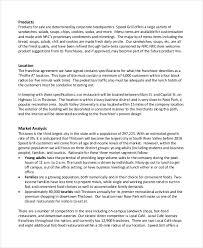 business plan template restaurant restaurant business plan 6 free