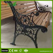 iron park benches hot sell wood slats for cast iron bench outdoor furniture wood