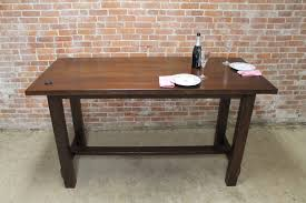 Rustic Bar Table Rustic Bar Height Farm Table Lake And Mountain Home