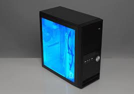 Pc Case Diy Home Dzine Home Diy Cool Blue Computer Case