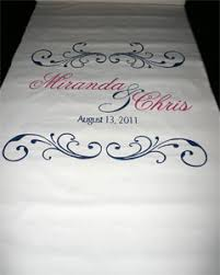 Wedding Runners Aisle Runners Artful Celebrations Hand Calligraphy Painted