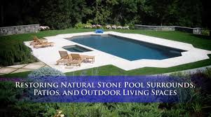 Precision Pools Houston by Natural Stone Pool Decks U0026 Patios Restoration Youtube