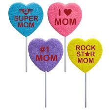 heart lollipop 2oz celebrate heart lollipops by melville candy