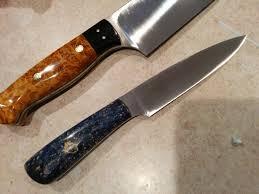 becker kitchen knives chef knife has a fat bladeforums com