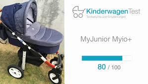 abc design kinderwagen test myjunior myio beweglichkeit kinderwagen tests net 2016