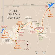 Arizona Rivers Map by 6 9 Day Trips From Advantage Grand Canyon