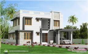 2450 sq feet modern villa design house design plans