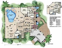 mediterranean villa house plans mediterranean house plans home design wdgf2 4682 13283