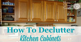 declutter kitchen cabinets how to facebook image jpg