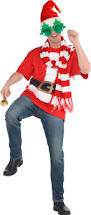 men u0027s santa christmas costume accessories party city