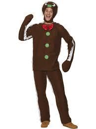 Shrek Halloween Costumes Adults Christmas Shrek Gingerbread Man Mens Fancy Dress
