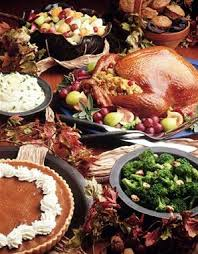 complete thanksgiving menu from recipes on jannorris