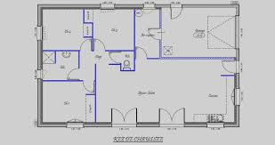 plan de maison plain pied 3 chambres gratuit tendance plan maison plain pied 3 chambres gratuit 150m2 pindex co
