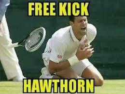 Funny Tennis Memes - hawthorn memes fans make fun of free kicks herald sun