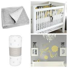 baby nursery fair picture of light grey and yellow black and