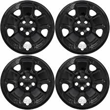 2017 white jeep black rims 4 black 2014 2017 jeep cherokee sport 17