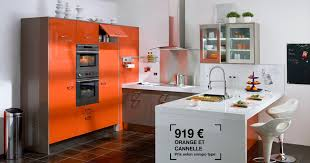 cuisine couleur orange cuisine lapeyre équipée twist photo 3 20 couleurs orange et