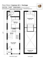Tiny House Plans On Wheels 8 By 24 Foot Tiny House On Wheels Layout Perfect For 2 Kids And