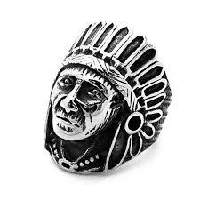 men big rings images Ethnic indian man design mens rings vintage feather person big jpg