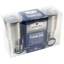 Members Mark Patio Furniture by Member U0027s Mark 30oz Tumblers 2 Pack Walmart Com