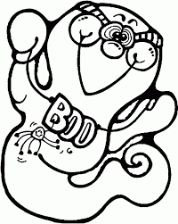cute ghost coloring pages toddlers fantasy coloring pages